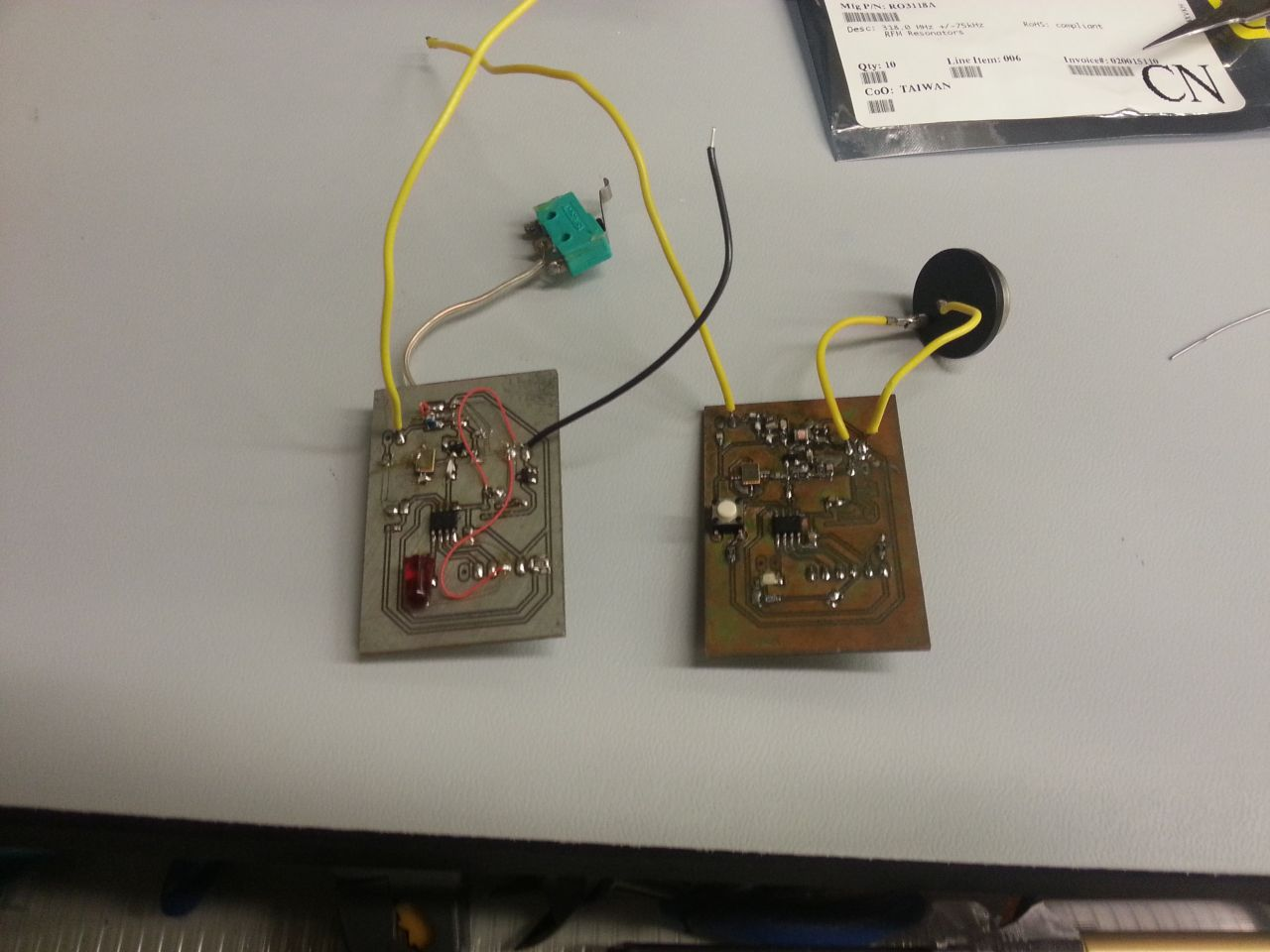 Projectsdoorking Pagemac Transmitter Circuit User Prototype The 4th